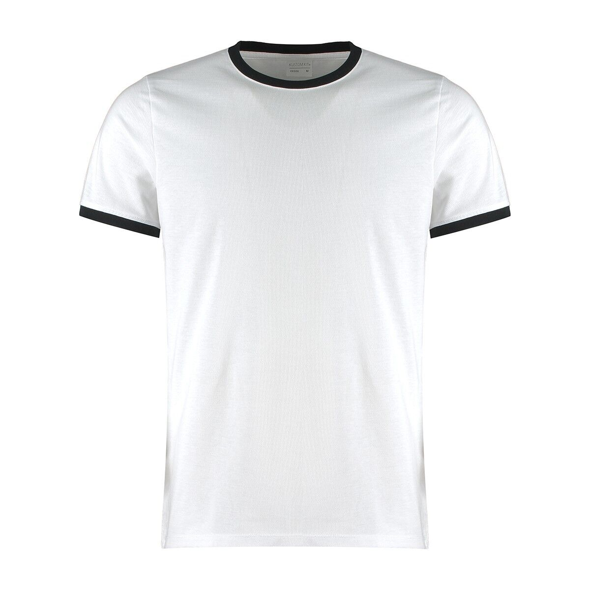 Contrast Ring Tee in Black/White