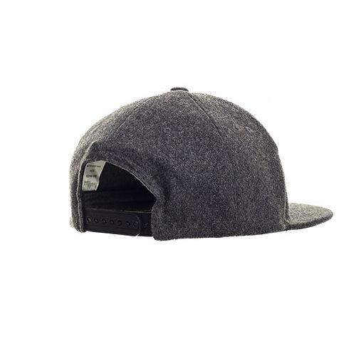 Winter baseball cap - grey