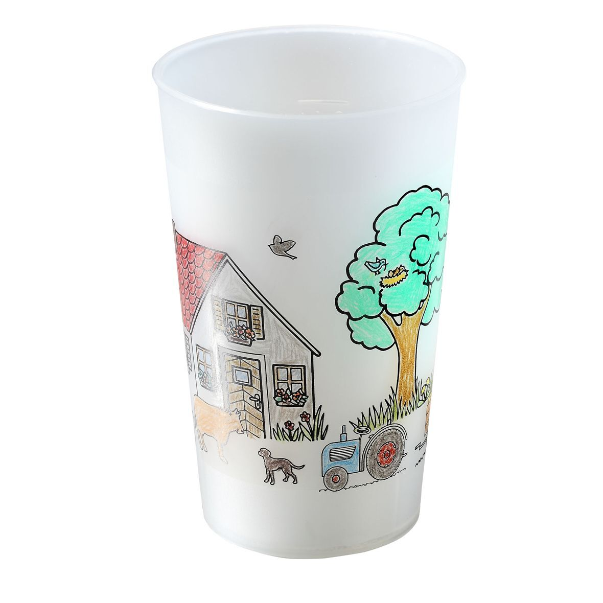 Cup for Colouring