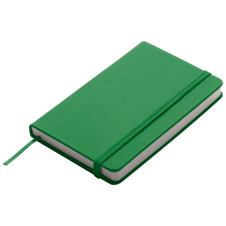 A6 Smooth PU Notebook Green