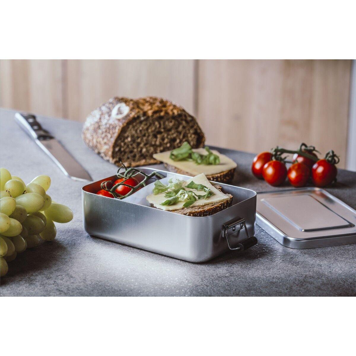 Aluminium Retro Lunch Box