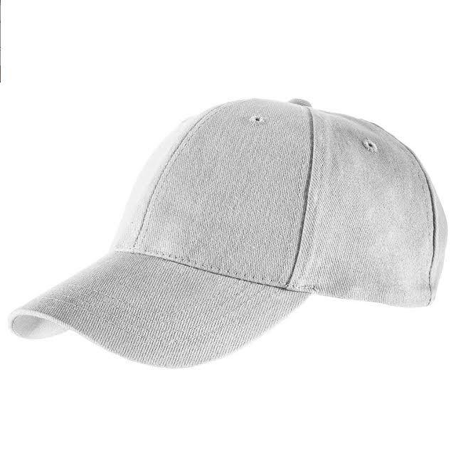 Baseball Caps Heavy Brushed Cotton - White
