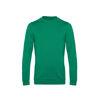 B&C Mens Set In Sweatshirt Kelly Green