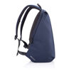 Bobby Soft, anti-theft backpack (navy, sideview)