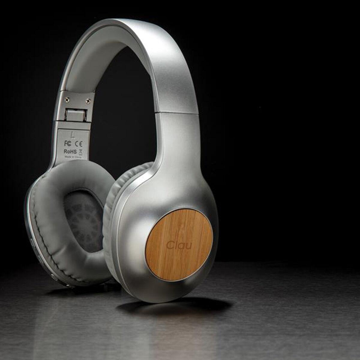 California Bamboo Wireless Headphones with individual Personalisation