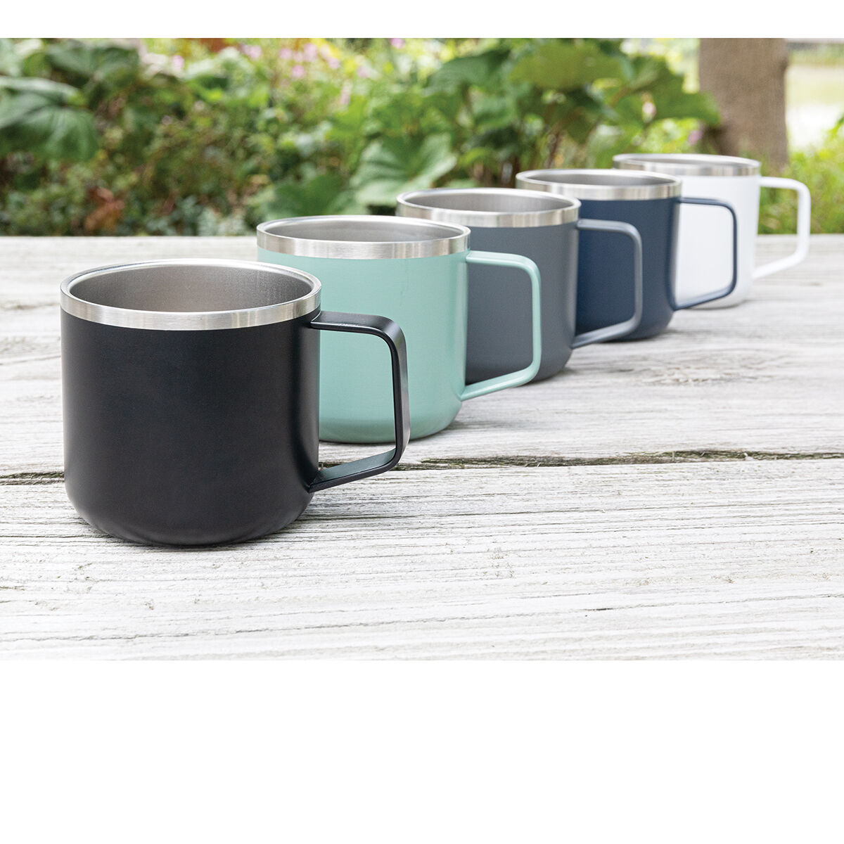 Camping Mug Stainless Steel Colours