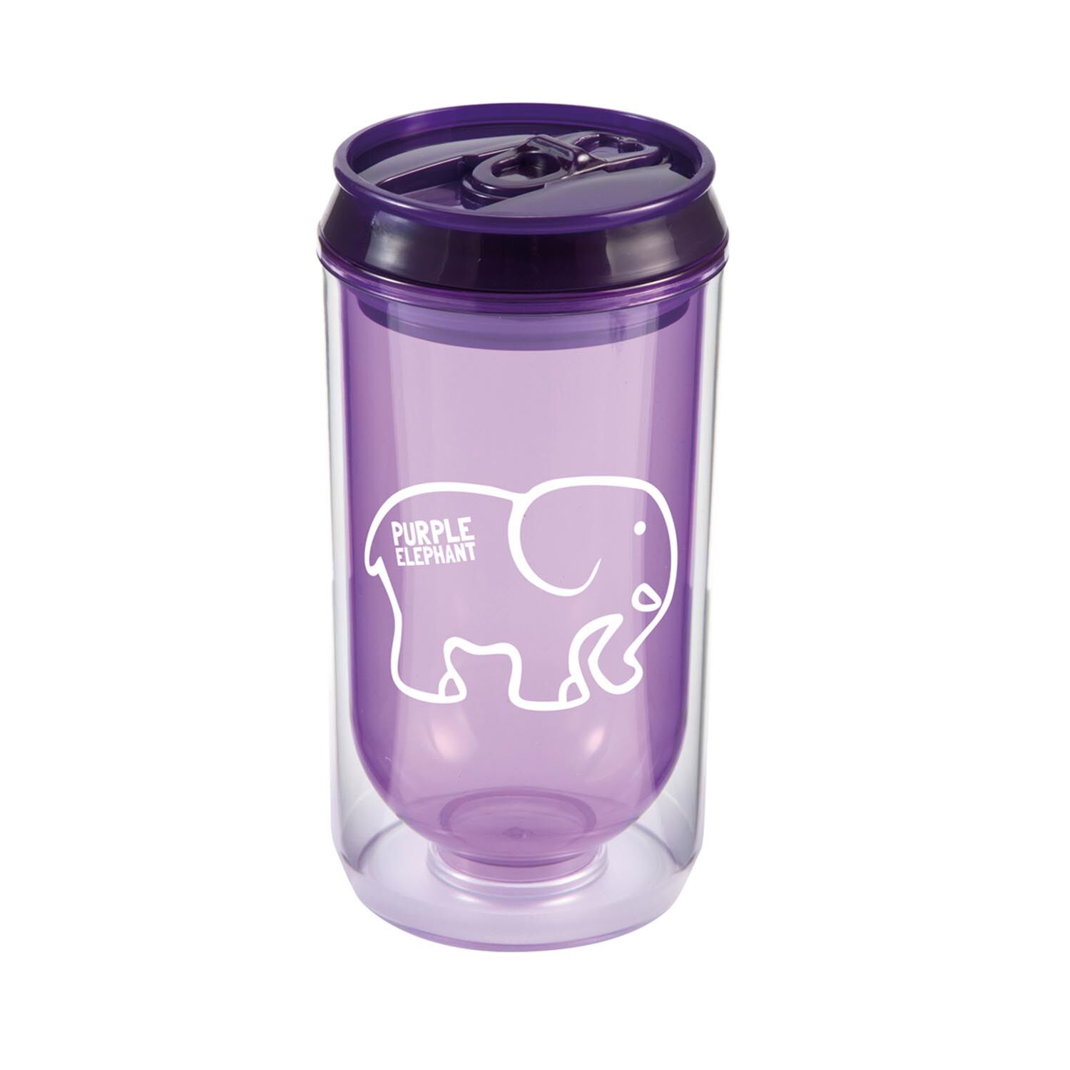 Promotional Can Cup - Purple