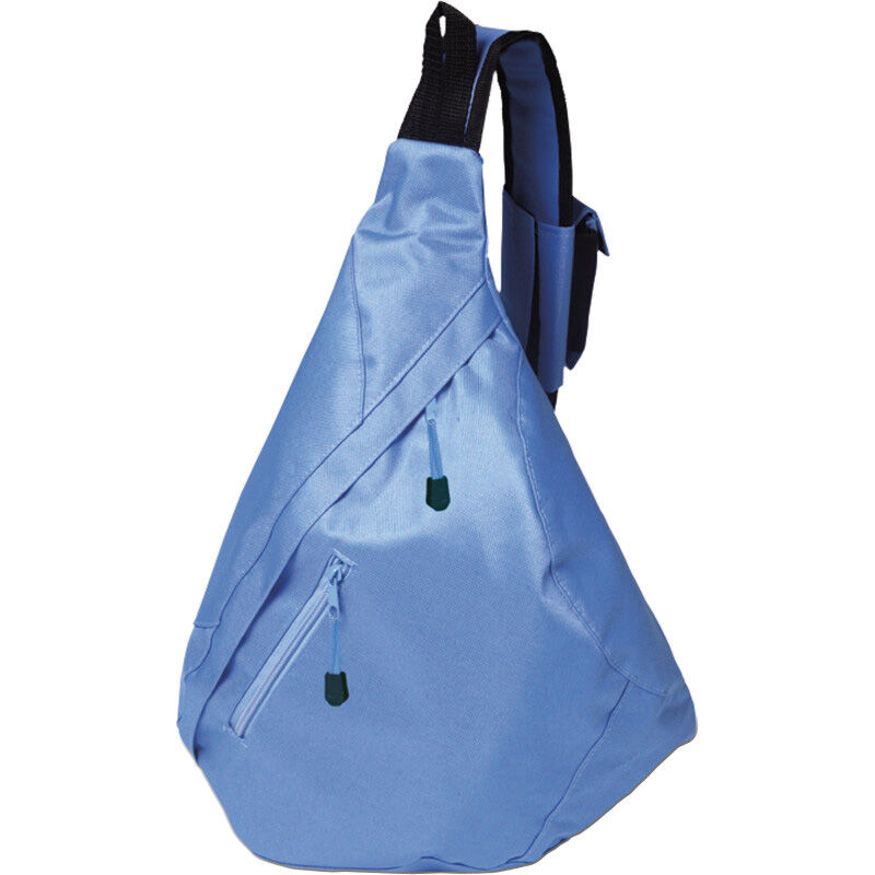 Triangular City Backpack - Blue