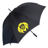 Promotional printed umbrellas black