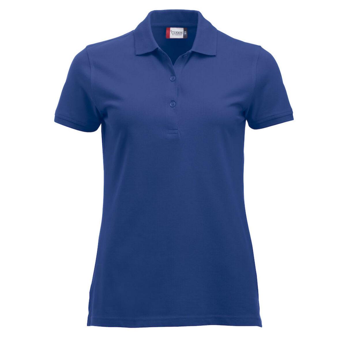 Unisex Clique Classic Polo Shirt (Ladies Blue)