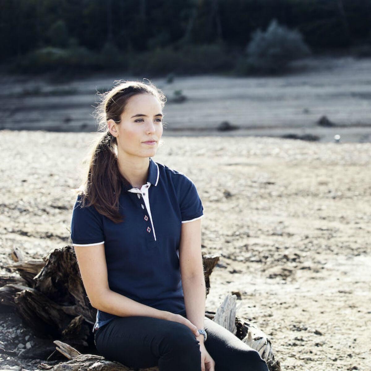 Clique Seattle Ladies' Polo Shirt (Dark Navy)