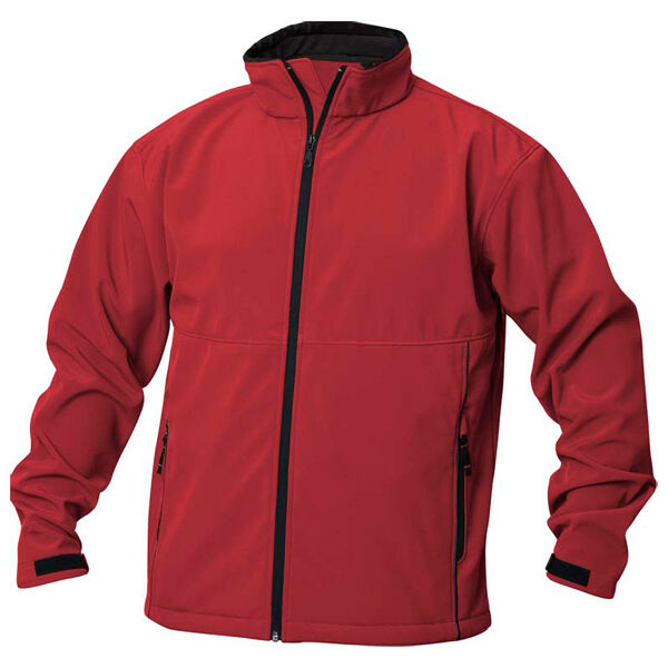 Clique Softshell Outdoor Jackets - Red