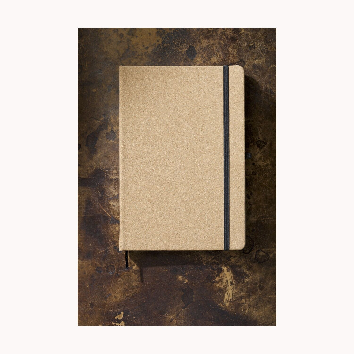 Cork Covered A5 Notebook plain cover
