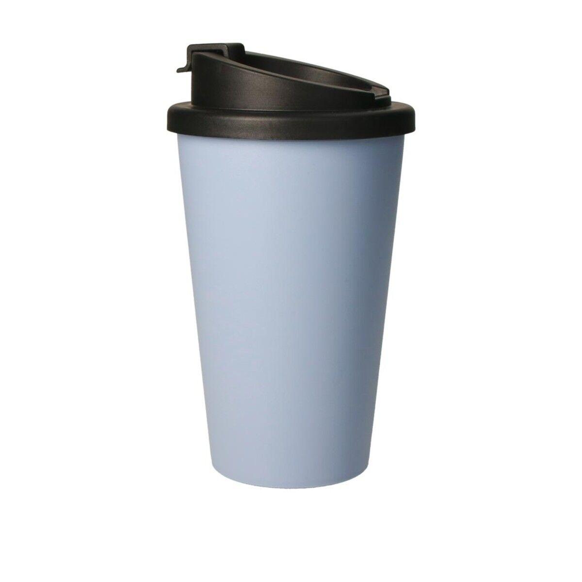 Bioplastic Spill Proof Takeaway Cup Cornflower Blue