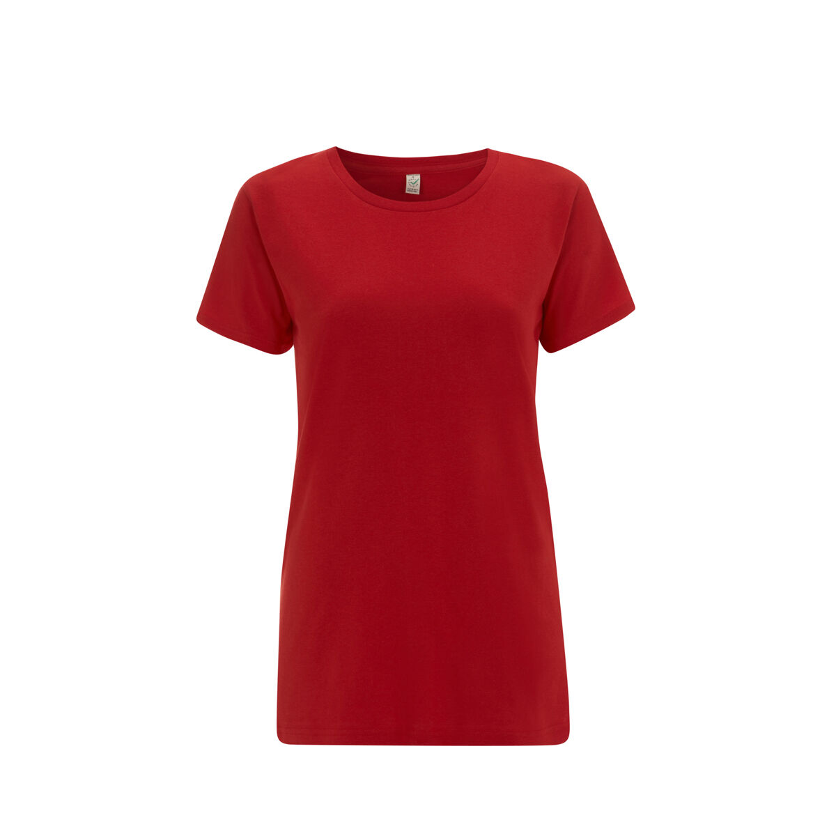 Organic Earth Positive Ladies T-Shirts Red