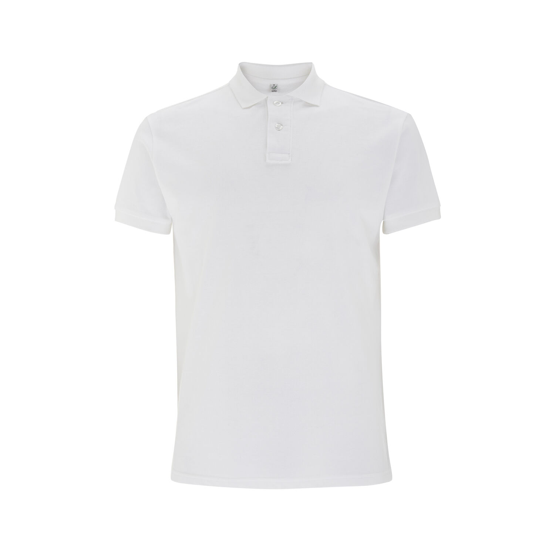 Earth Positive Organic Cotton Polo Shirts White