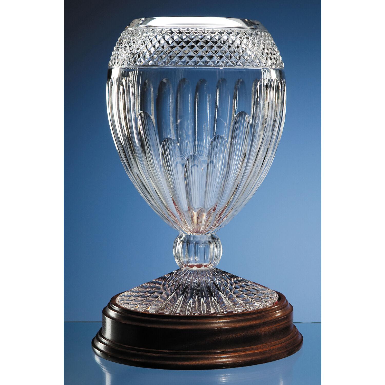 35cm Lead Crystal Orphos Vase
