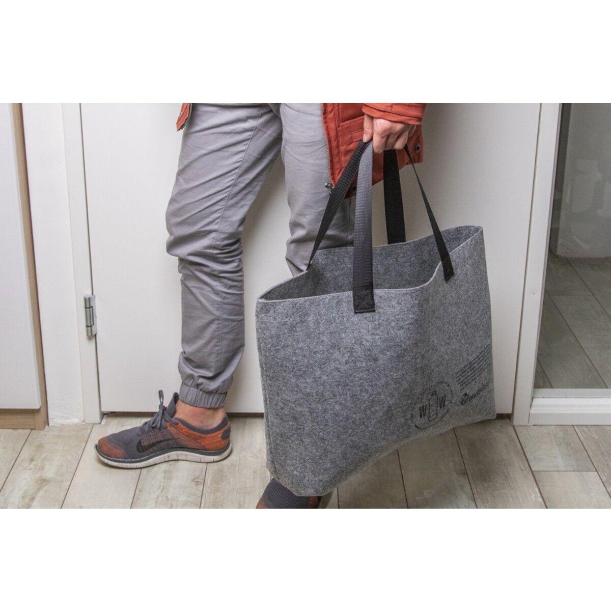RPET Felt Shoulder Bag made with Recycled Bottles