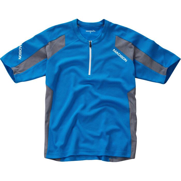 Flux Singletrack Men's S/S Jersey - Blue