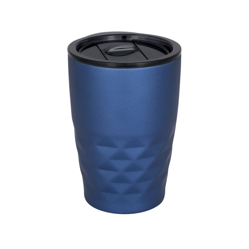 Geo thermal insulated tumbler, blue