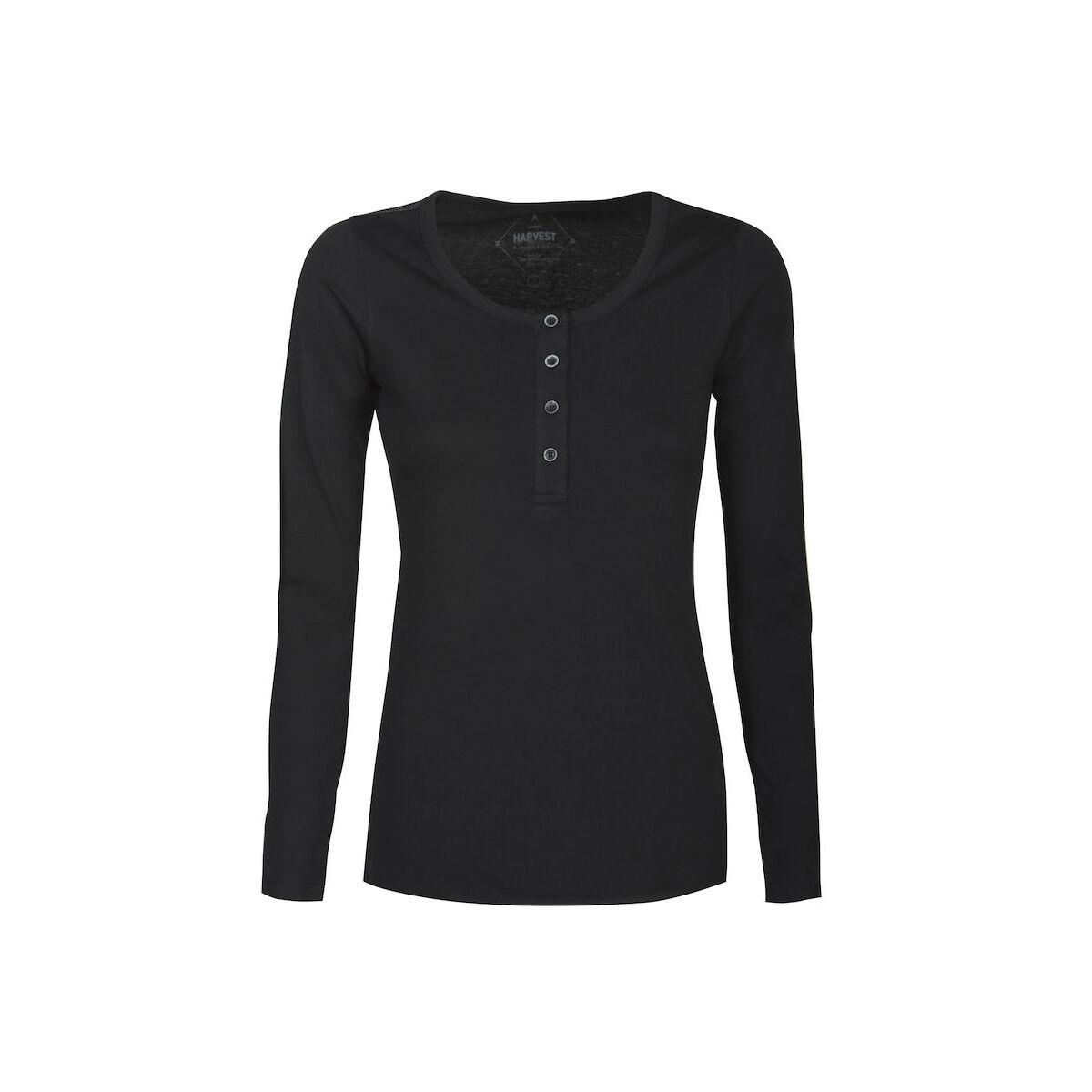 Harvest Long Sleeved Sweater (Ladies Black)