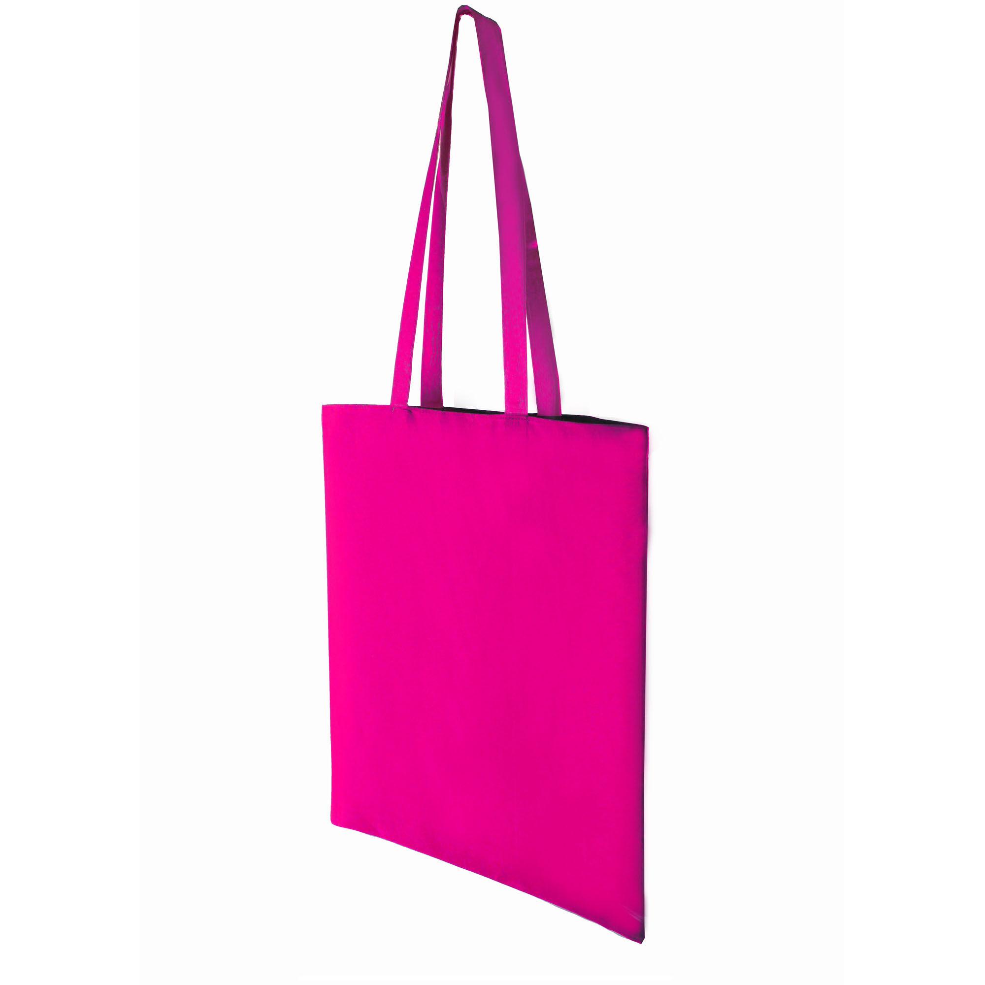 Premium Cotton Dyed Shopper Bags - Pink