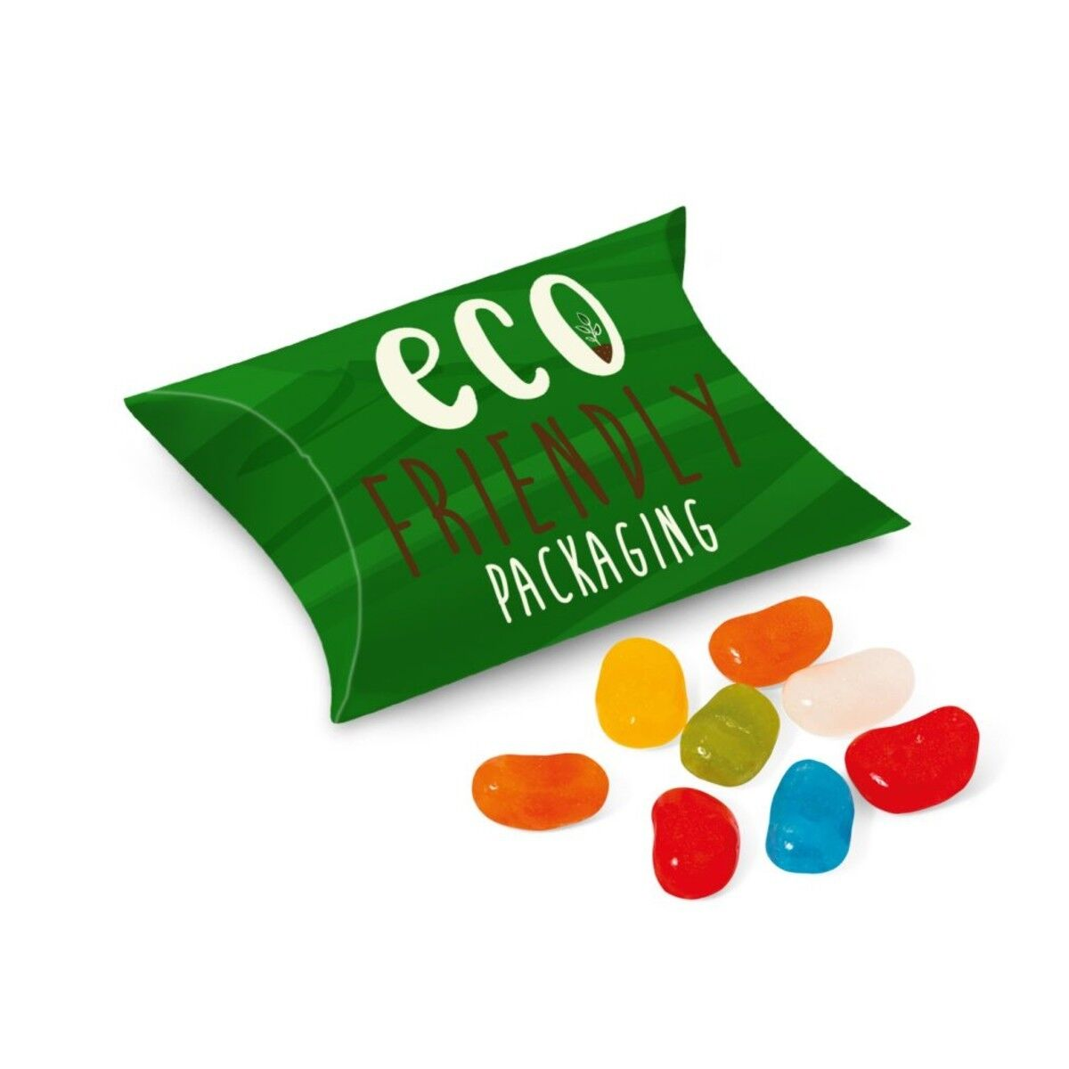 Biodegradable Card Pouch filled with Jelly Beans