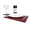 Leather tablemats