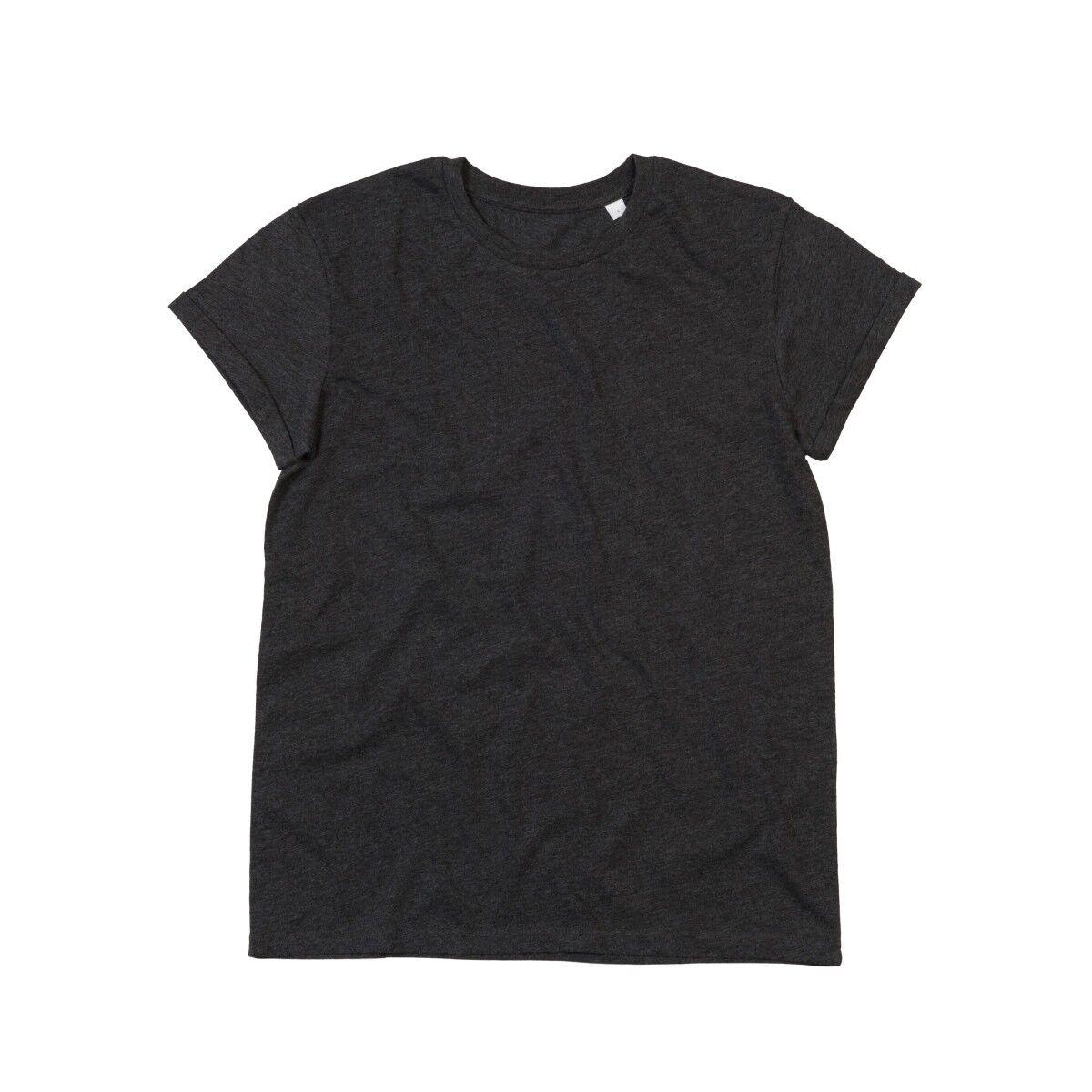 Mantis Roll Sleeve T Shirt - Charcoal Grey