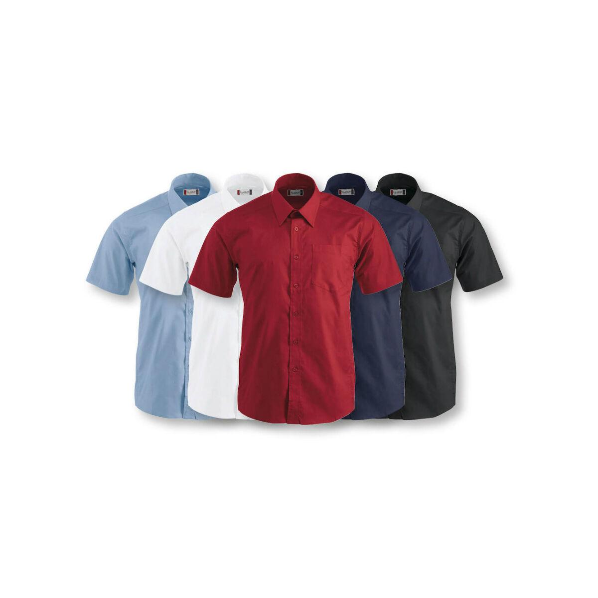 Clique Short Sleeved Shirt (Men's Colours)