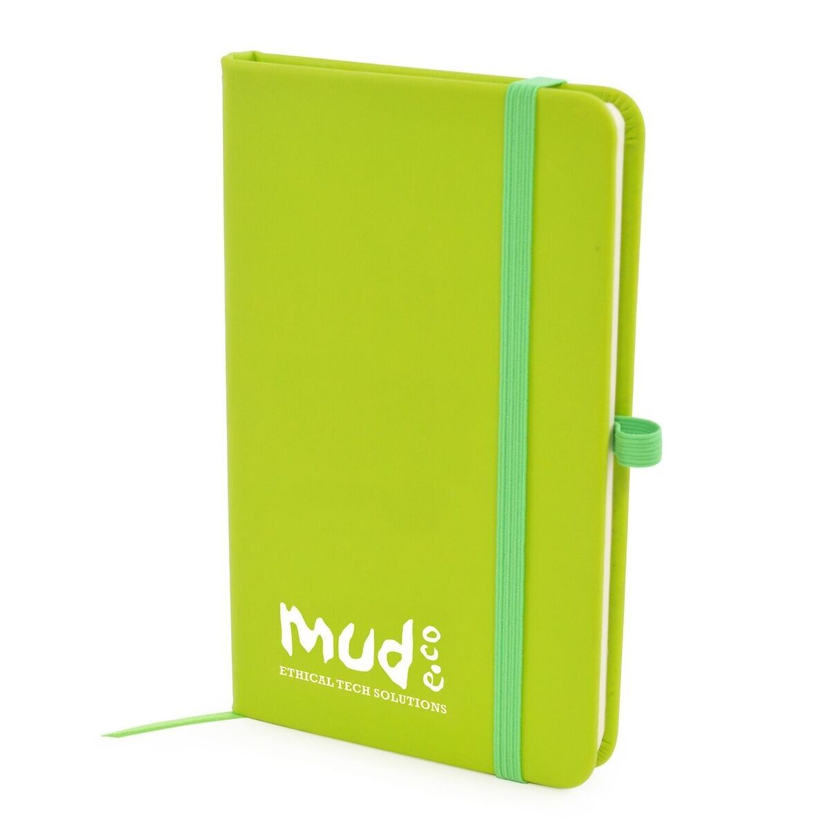A6 Notebook with Pen Loop (Lime)
