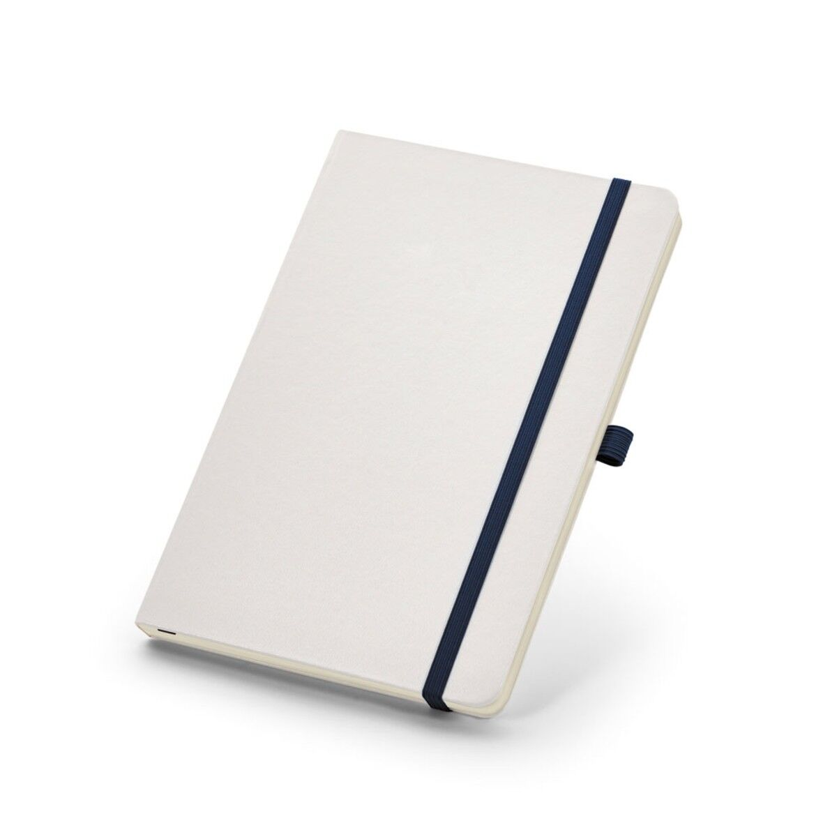 Notepad with Blue Pen Loop and Elastic