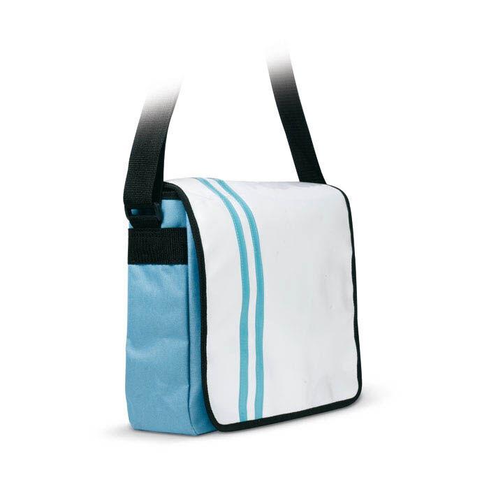 Document Bag in PVC - Blue