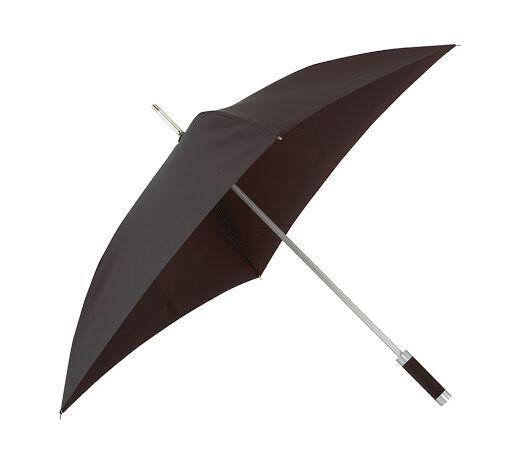 Quatro Square Umbrella Black