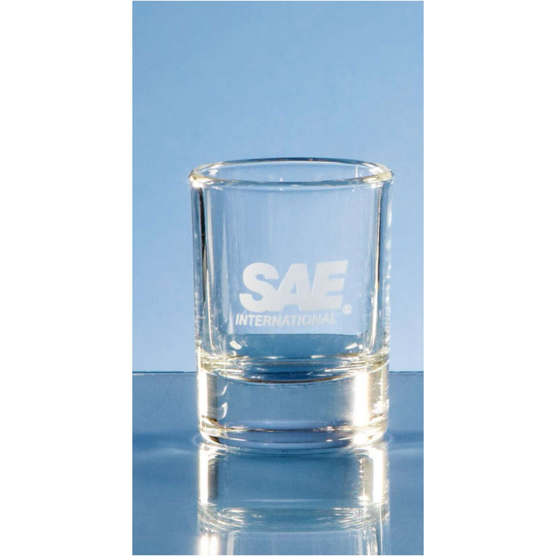 Round Base Shot Glass
