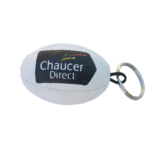 Rugby Ball Shaped Keyrings
