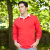 Long Sleeve Rugby Shirts - Red
