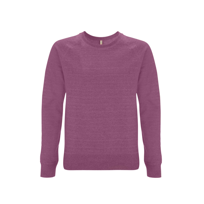 Unisex Salvage Organic Sweatshirt (Plum)