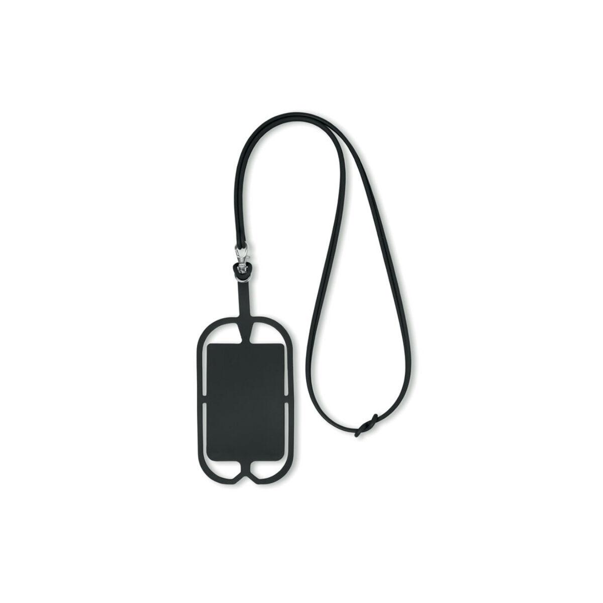 Smartphone Holder and Hanger (Black)