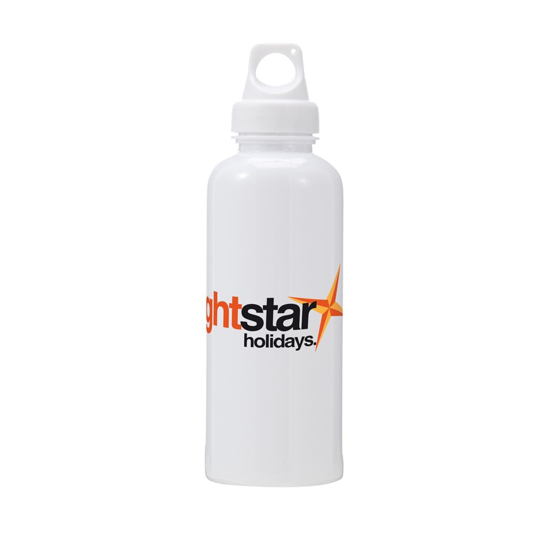 Sports Water Bottles - White