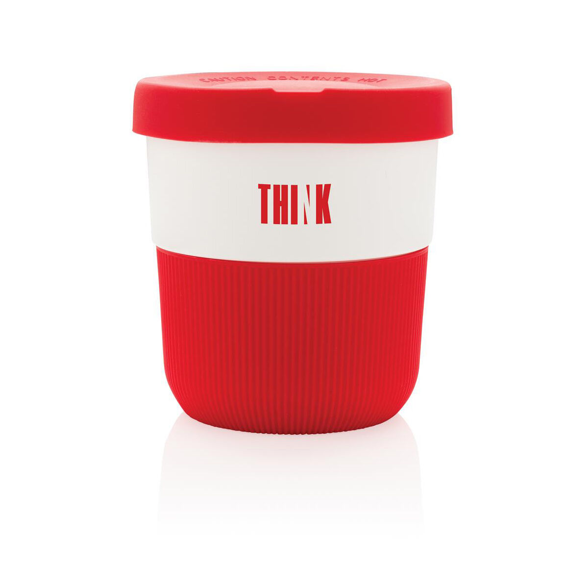 Sustainable PLA Coffee Cup Red