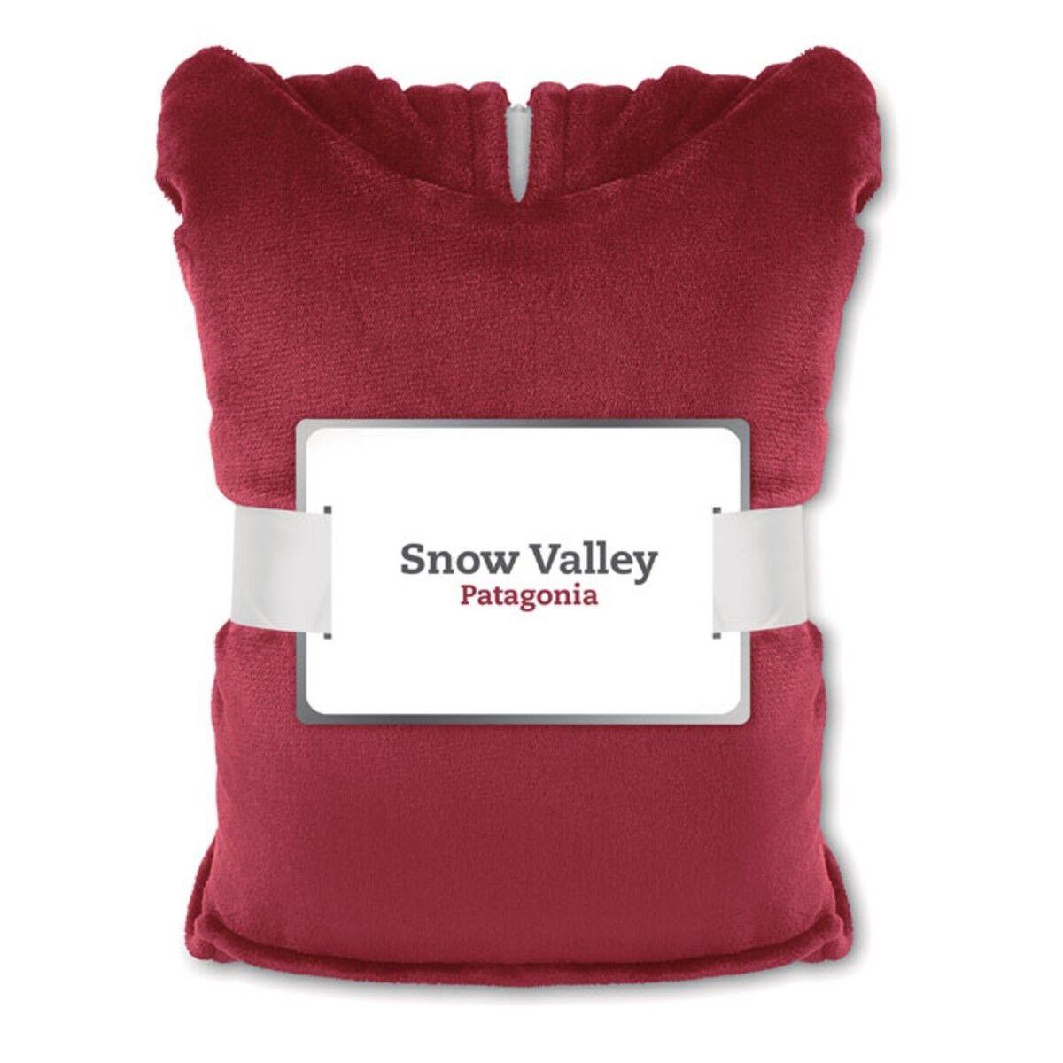 Blanket Sweatshirt in Burgundy colour w/printed card