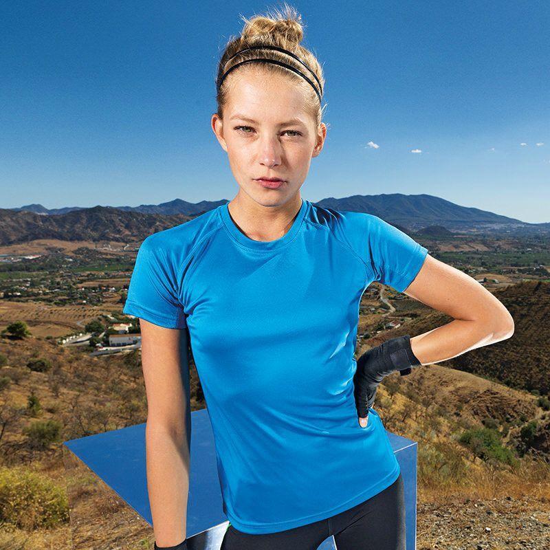 Unisex Sports TriDri T-Shirt (Sapphire)