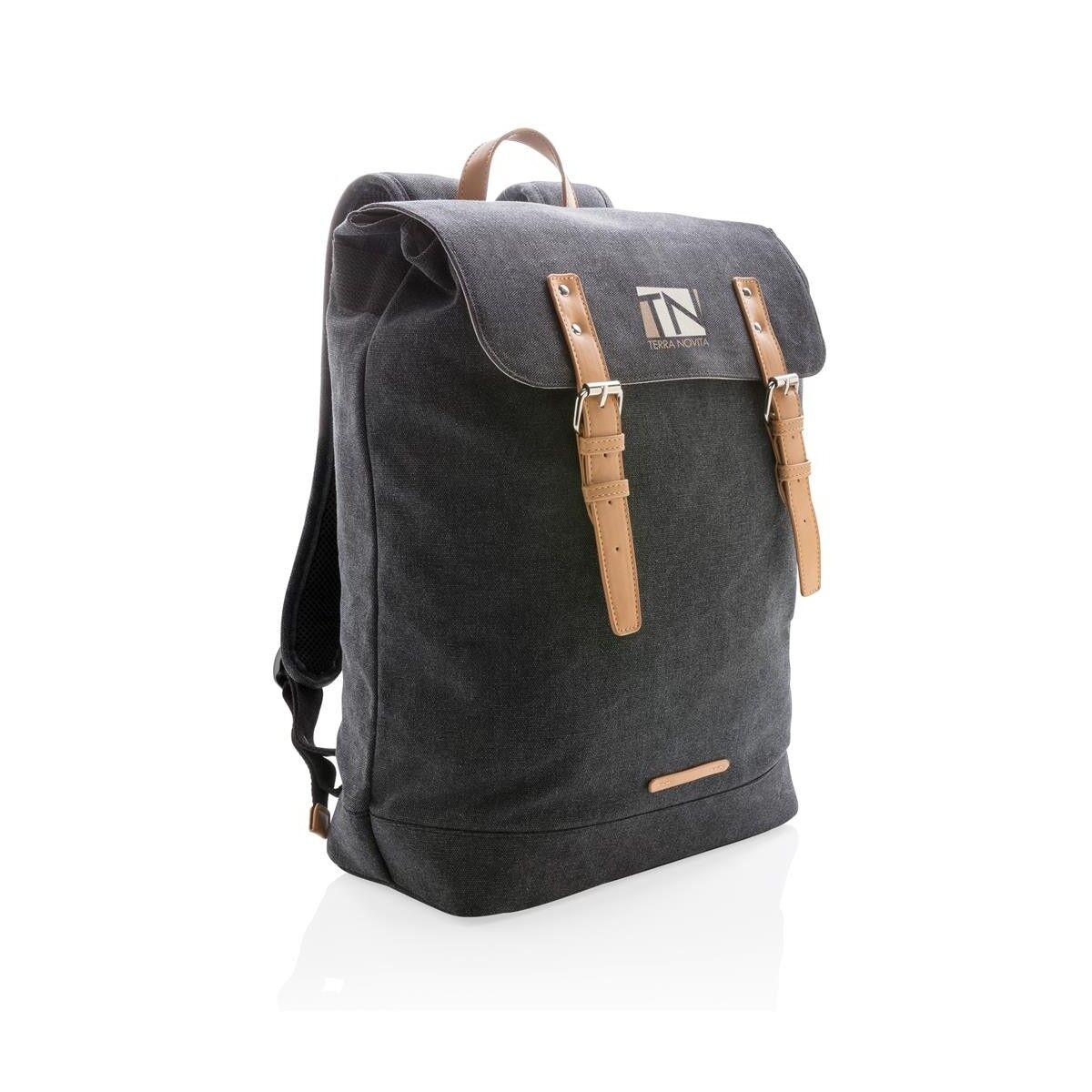 Traveller Laptop Backpack - Black
