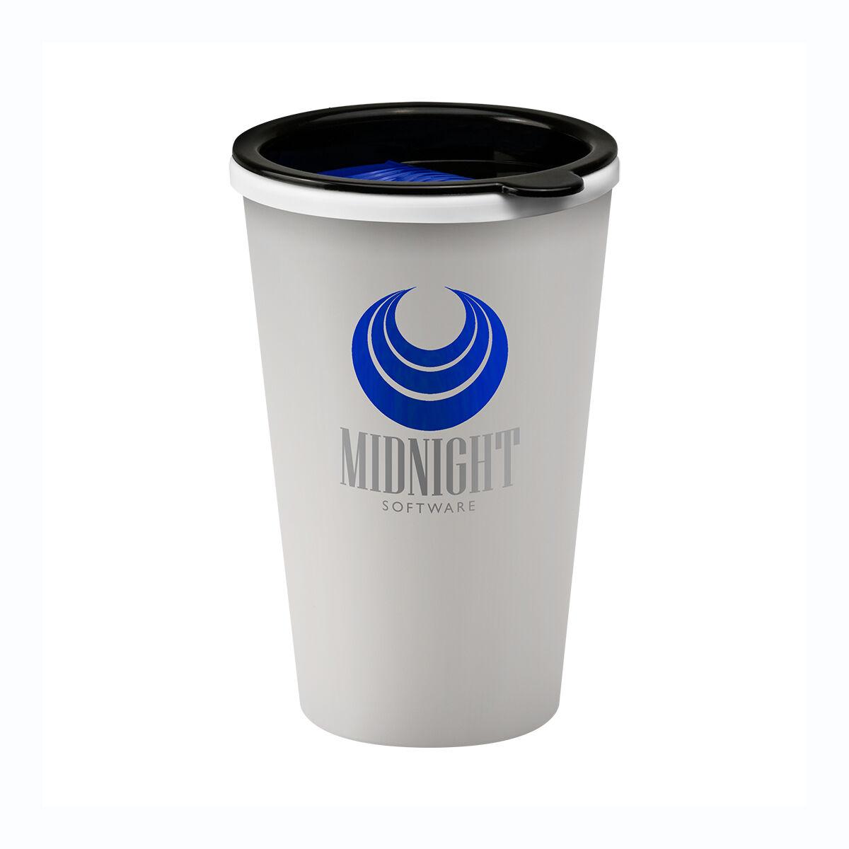 Universal Travel Mug with hot drink sip lid
