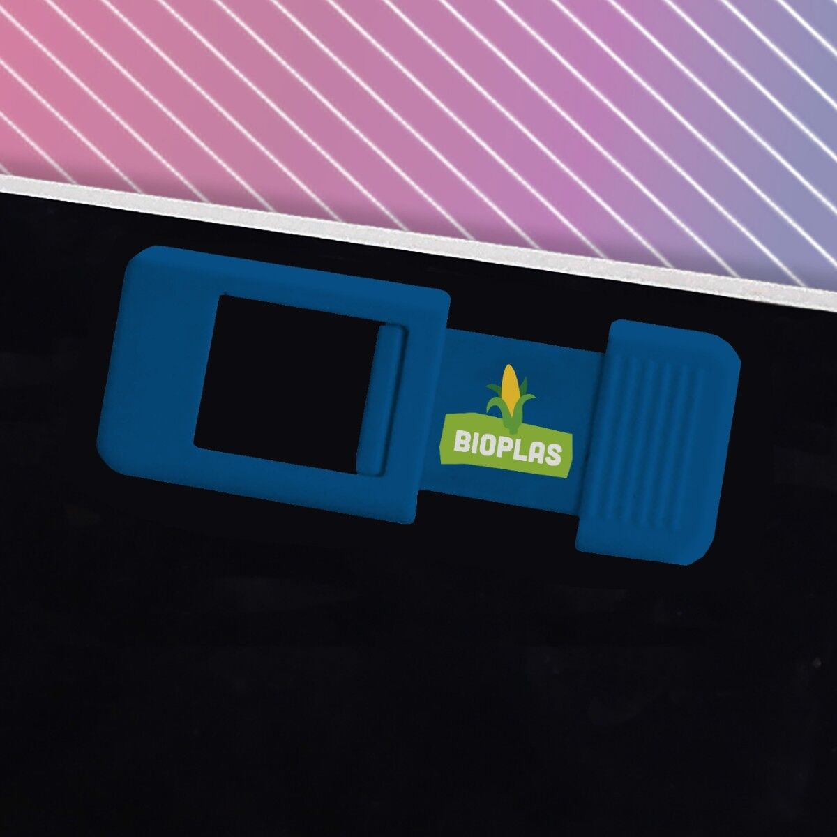Biodegradable Webcam Cover in Blue Colour