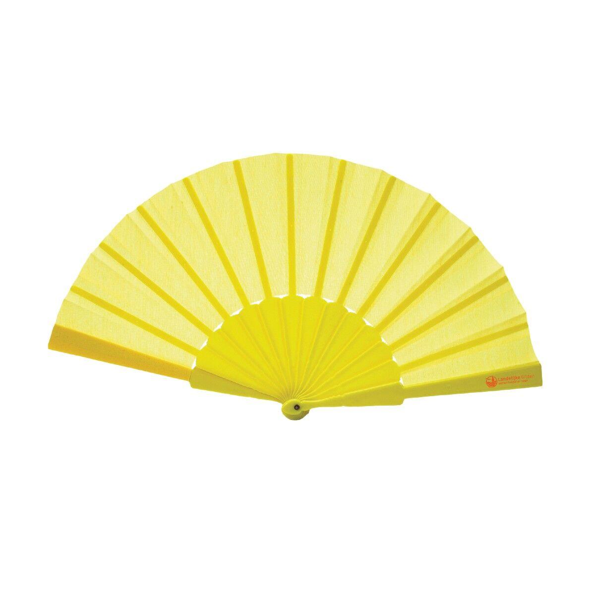 Yellow Hand Fan
