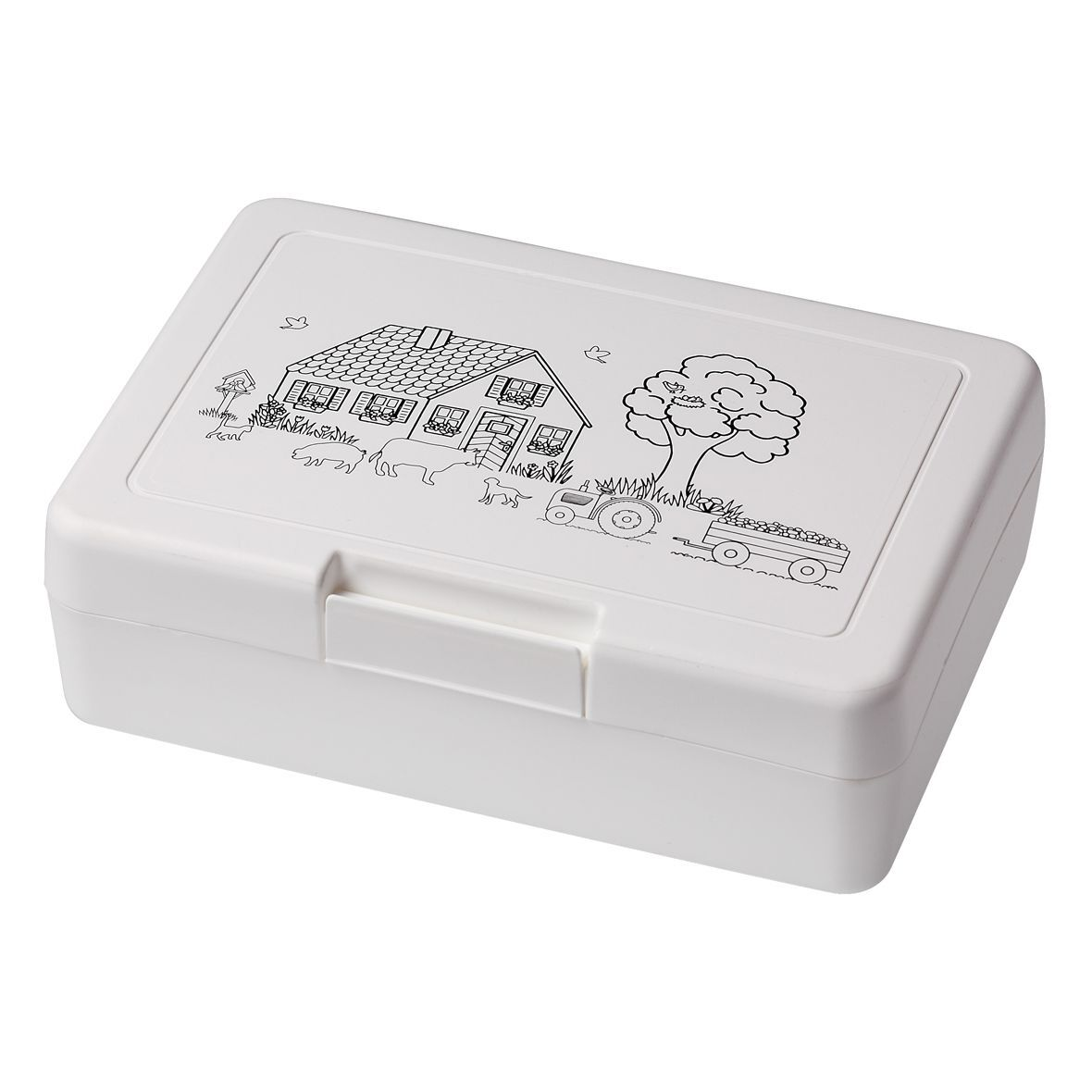 Lunch Box for Colouring