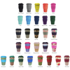 Promotional Ecoffee Cup Bamboo Takeaway Cup 14oz Colours