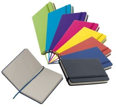 A6 Smooth PU Notebook All Colours